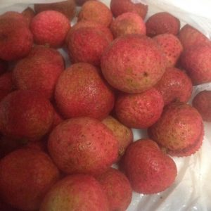 Small seed lychees
