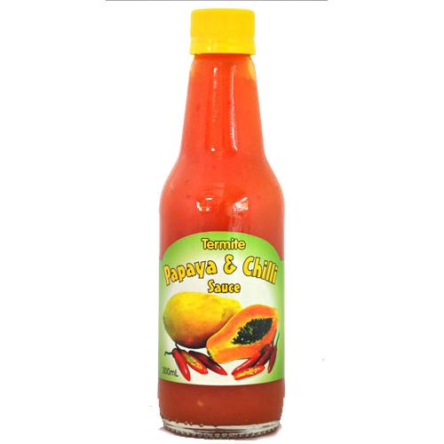 papaya and chilli sauce