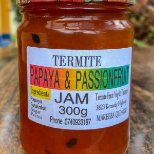 Papaya and Passionfruit Jam