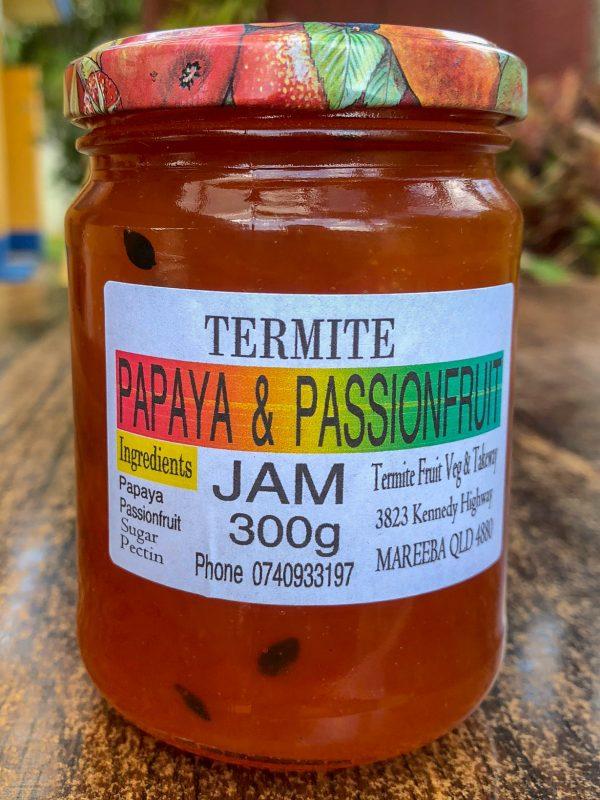 Papaya and Passionfruit Jam