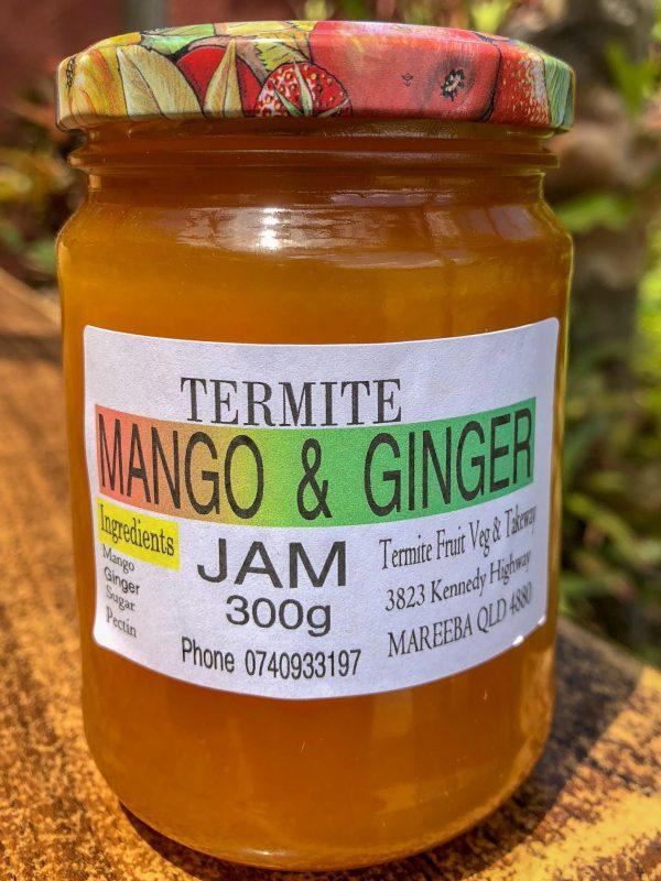 Mango and Ginger Jam