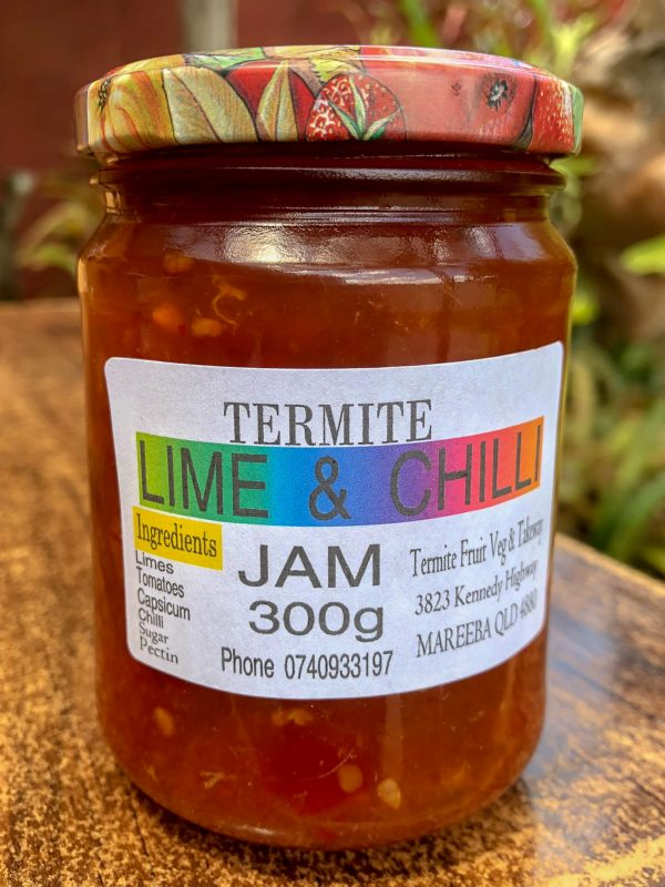 lime and chilli jam